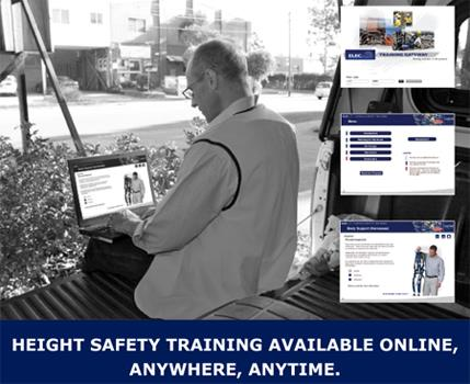Online Learning Fall Protection Training