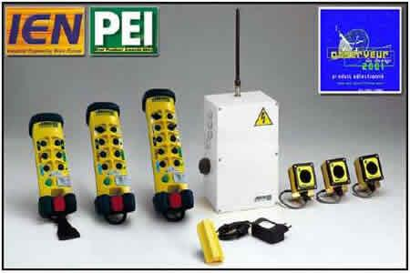 Button industrial radio remote control system - Jay UD Series