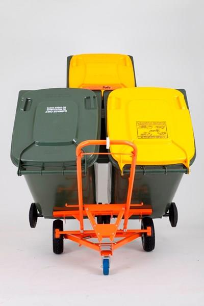 WheelieSafe™ Manual Bin Handling Trolley